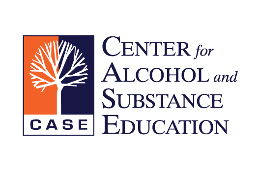 CASE - Center for Alcohol and Substance Abuse Education Logo and Web Design